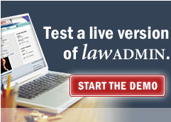 Start the law firm content management demo now.